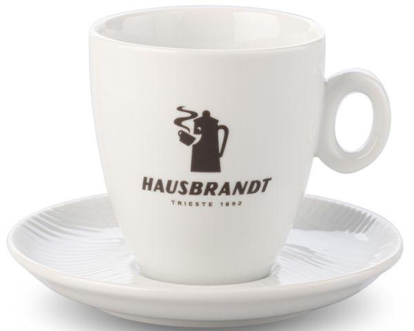 Hausbrandt Milchkaffee Tasse