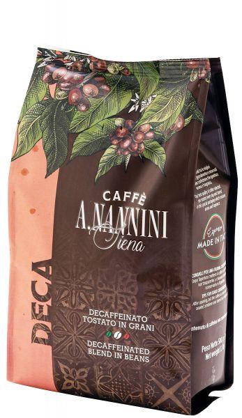 Nannini Kaffee Decaffeinto ohne Koffein