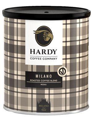 Hardy Milano Espresso ganze Bohne - 250g Dose