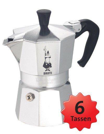 Bialetti Moka Express 6 Tassen Caffettiera