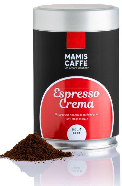 Mamis Caffe Espresso Crema gemahlen 250g Dose