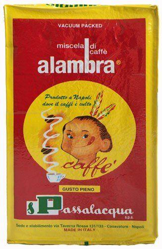 Passalacqua Alambra gemahlen Espresso