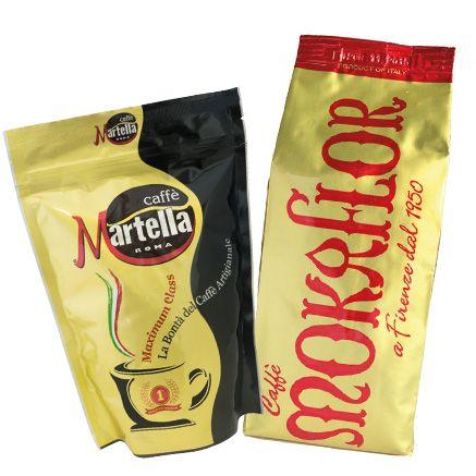 Martella Kaffee und Mokaflor Kaffee