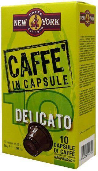 Caffe New York Nespresso Kapseln - Delicato 10 Stück