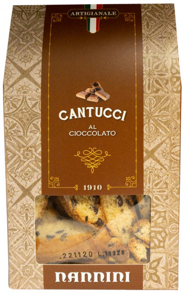 Nannini Cantucci / Cantuccini mit Schokolade