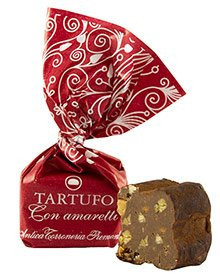 Antica Torroneria Piemontese Tartufo con Amaretti