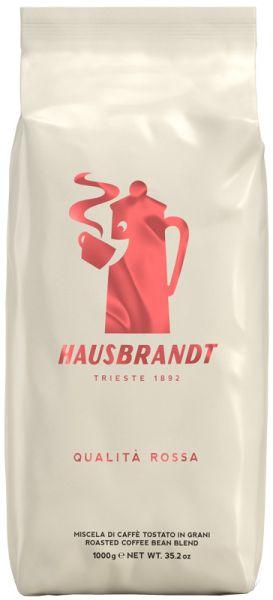 Hausbrandt Qualita Rossa 1000g Espressokaffee - ganze Bohne