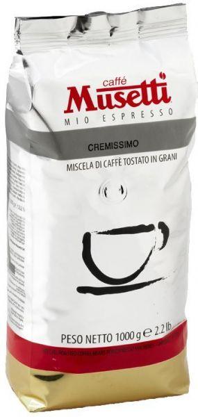 Musetti Espresso Cremissimo 1000g Bohne