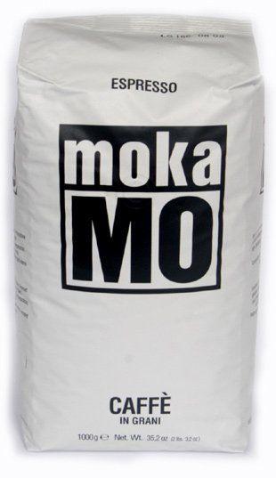 Mokamo Kaffee Espresso Dolce weiss