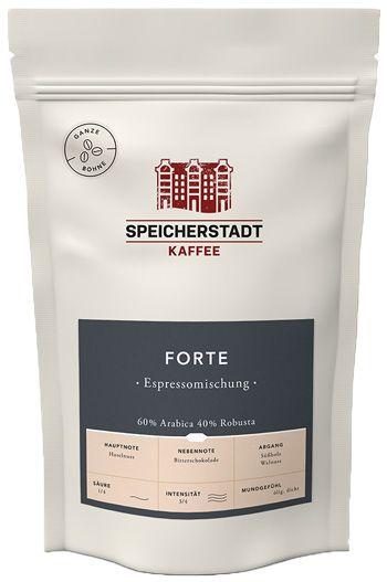 Speicherstadt Kaffee Forte Espresso   500g