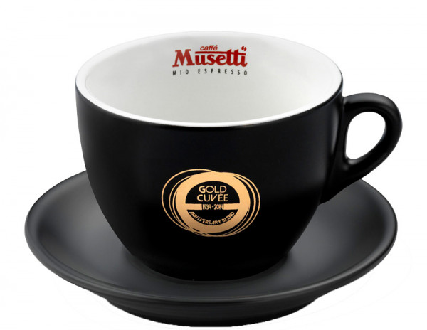 Musetti Gold cuvee Cappuccinotasse