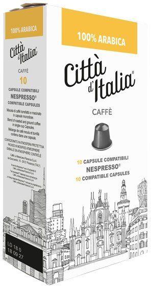Città d' Italia Nespresso kompatible Kapseln Arabica