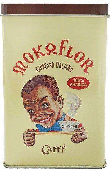 Mokaflor Kaffee Geschenkdose Espressobohnen