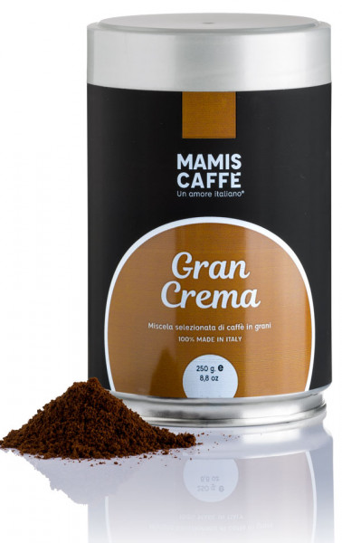 Mamis Caffe Gran Crema Espresso gemahlen 250g Dose