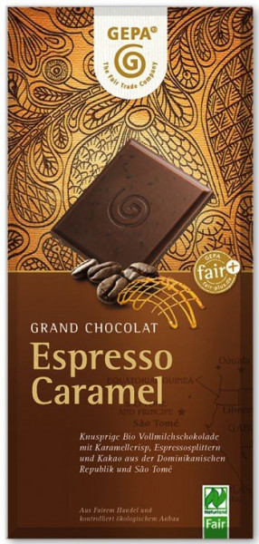 GEPA BIO Schokolade Espresso Caramel