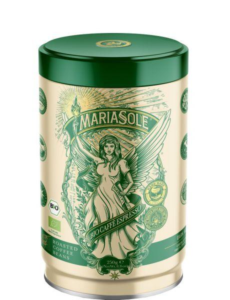 Maria Sole Bio-Espresso LINEA VERDE 250g Bohnen