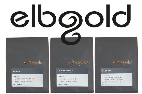 Elbgold Espresso Profiset für den Siebträger