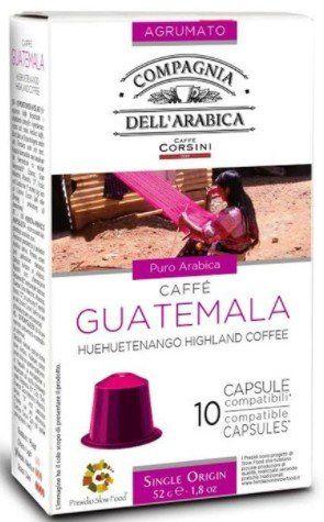 Compagnia dell Arabica Nespresso kompatible Kapseln Guatemala