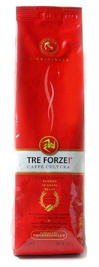 TRE FORZE! Espresso Kaffee 250g Bohnen im Beutel