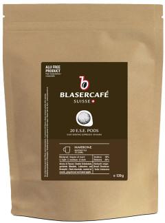 Blasercafé Marrone Ese Espresso Pad - Ohne Aluminium