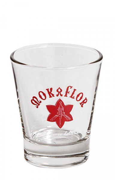 Mokaflor Espresso Glas
