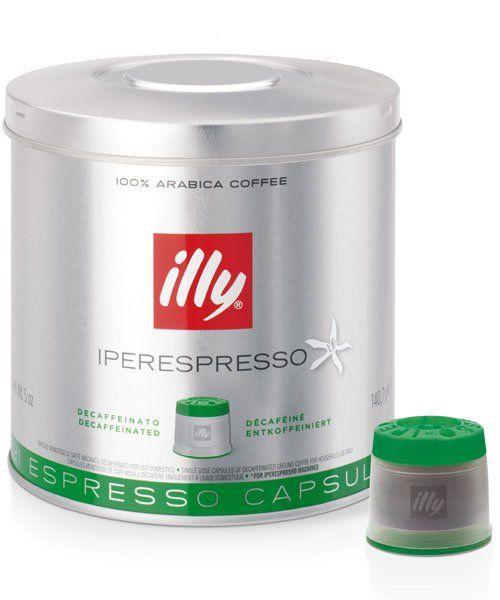 illy Decaffeinato entkoffeinierte MIE Kapseln | koffeinfrei