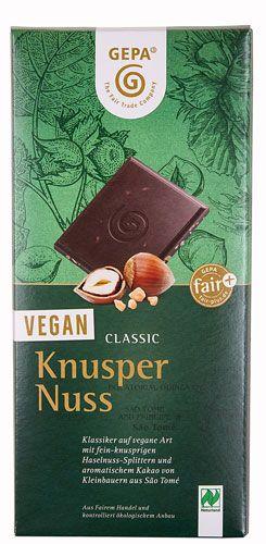 GEPA - Knusper Nuss Vegane Schokolade