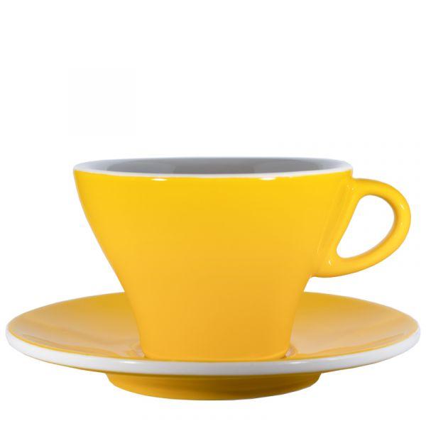 Club House Milchkaffeetasse Gelb