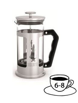 Bialetti French Press 1,0 Liter Kaffeebereiter