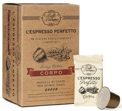 10 Diemme Corpo Nespresso®* kompatible Kapseln