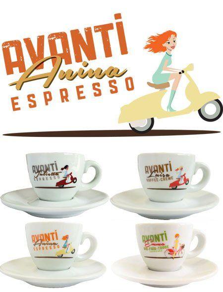 Avanti Espressotassen set