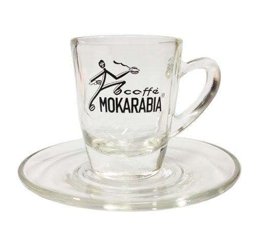 MOKARABIA Espresso - Tasse aus Glas