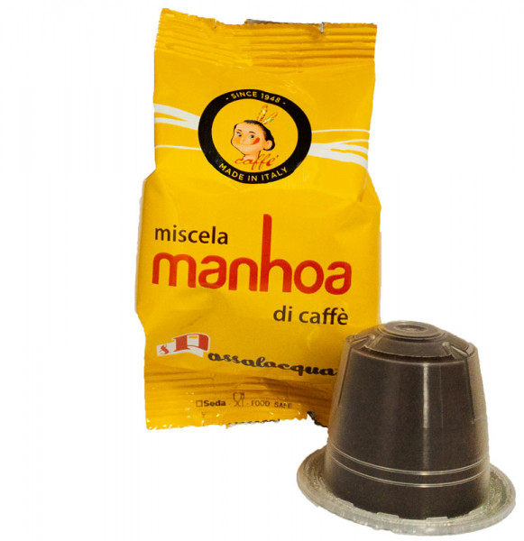 Passalacqua Manhoa Nespresso komaptible Kapsel Espresso