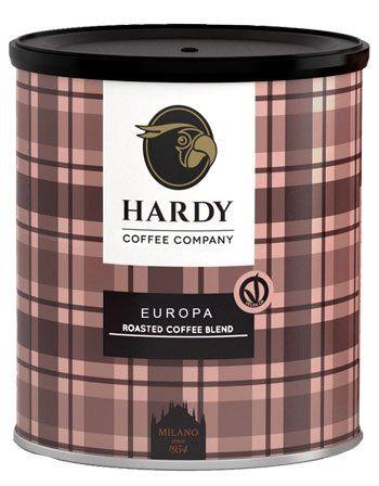 Hardy Europa Espresso ganze Bohne - 250g Dose