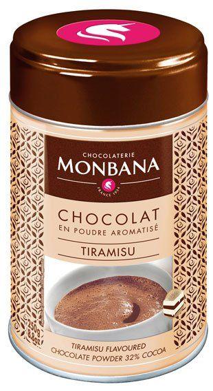 Monbana Trinkschokolade Tiramisu