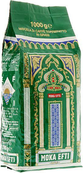 Moka Efti Bar Verde 1000g ganze Bohnen